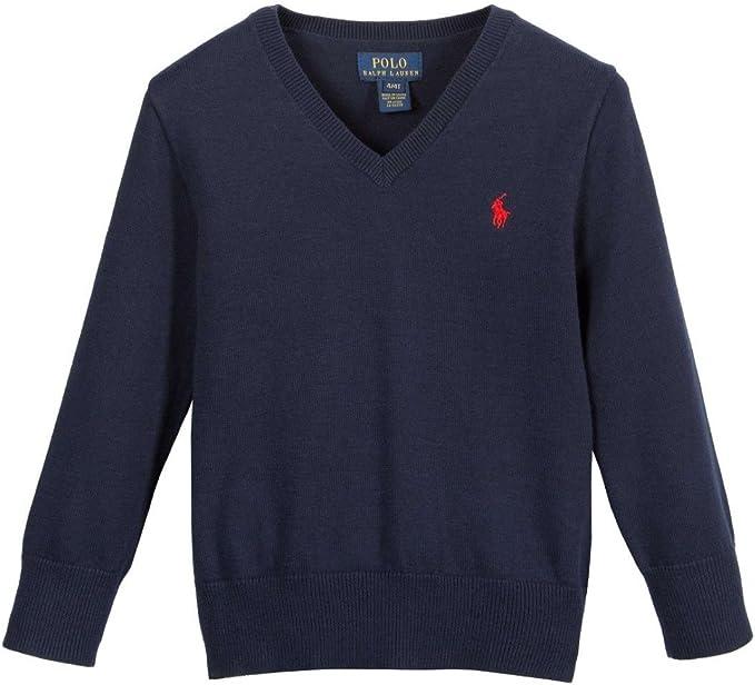 Polo Ralph Lauren - Camiseta de Manga Larga - para niño Azul Azul ...