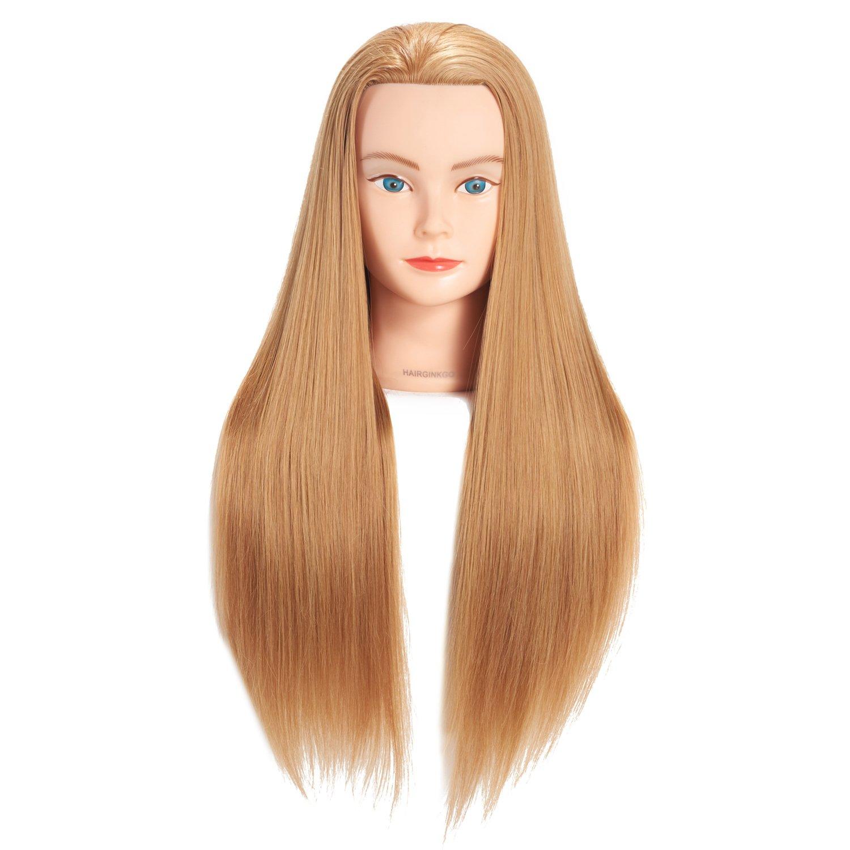 Hairginkgo 26 – 71, 1 cm testa di manichino Hair styling training Head (92018LB0420) Hairginkgo 26 - 71