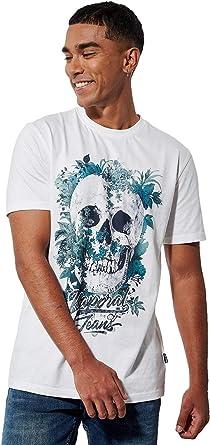 t-shirt tête de mort homme 3