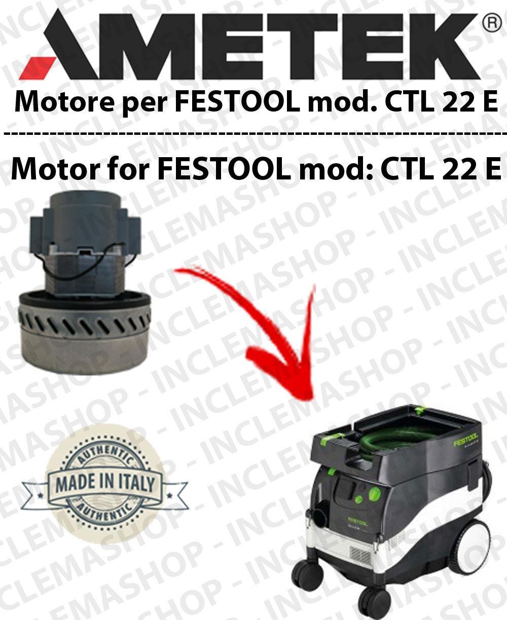CTL 22 y motor aspiración ametek para aspiradora y te Festool ...