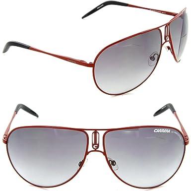 00705d89e3c3 Carrera Gipsy Red Frame/Grey Gradient Lens Metal Sunglasses: Amazon.co.uk:  Clothing