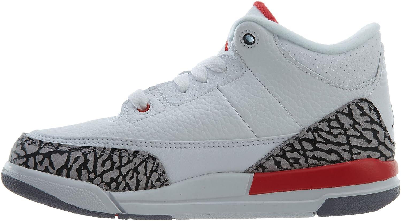 Nike Kids Jordan Retro 3 Katrina PS Basketball Shoe/Ê