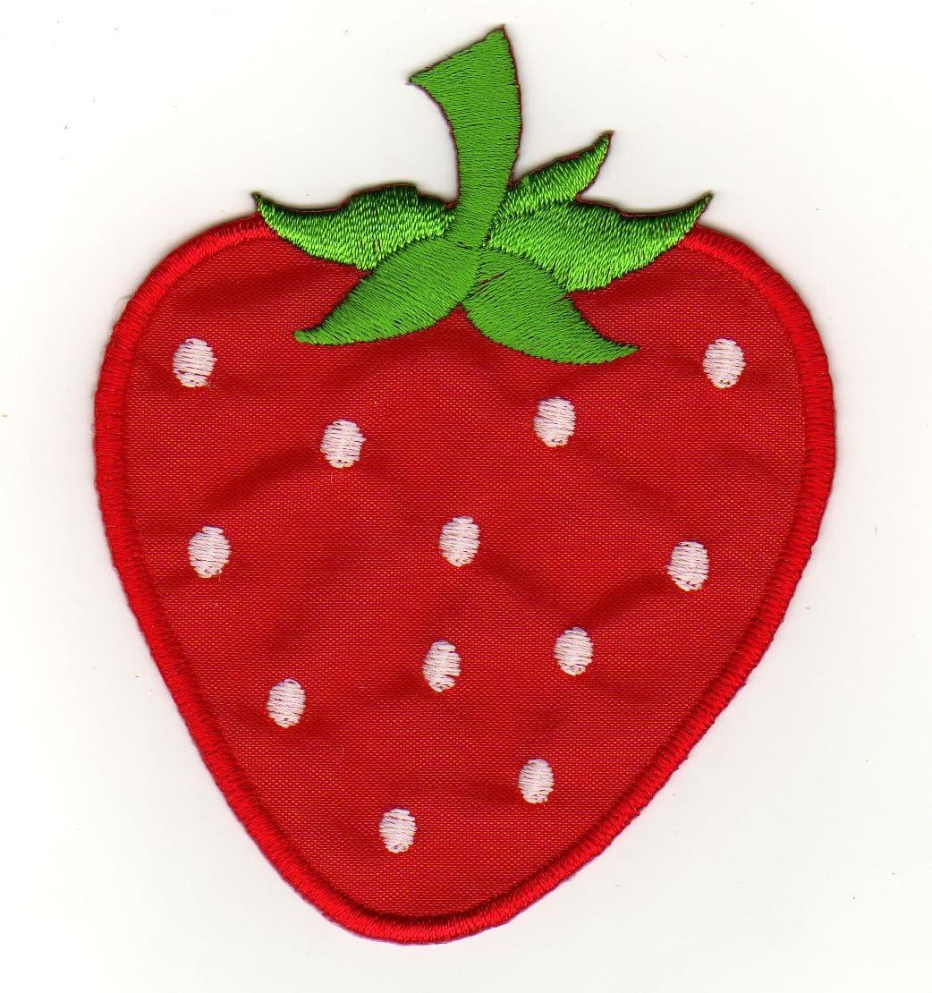 Aufn/äher Aufn/äher Erdbeer-Design Bestellmich B/ügelbild