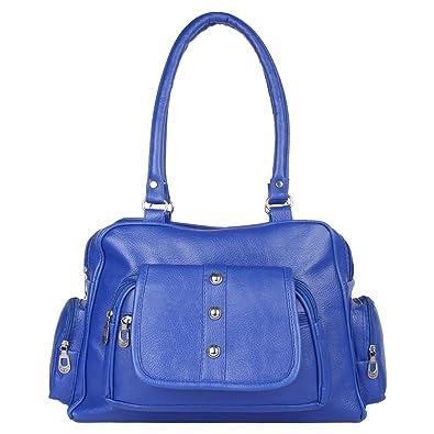 d4a7feba2d REYAZ JAIBUN BLUE SHOULDER BAG FOR WOMEN  Amazon.in  Shoes   Handbags