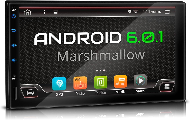 Xomax Xm 2va701 Autoradio Mit Android 6 0 1 Gps Elektronik