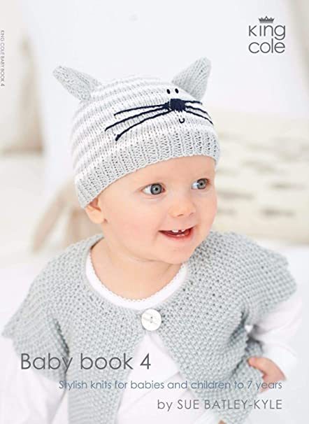 4ff8b579c244 King Cole Knitting Pattern Baby Book 4  Sue Batley-Kyle