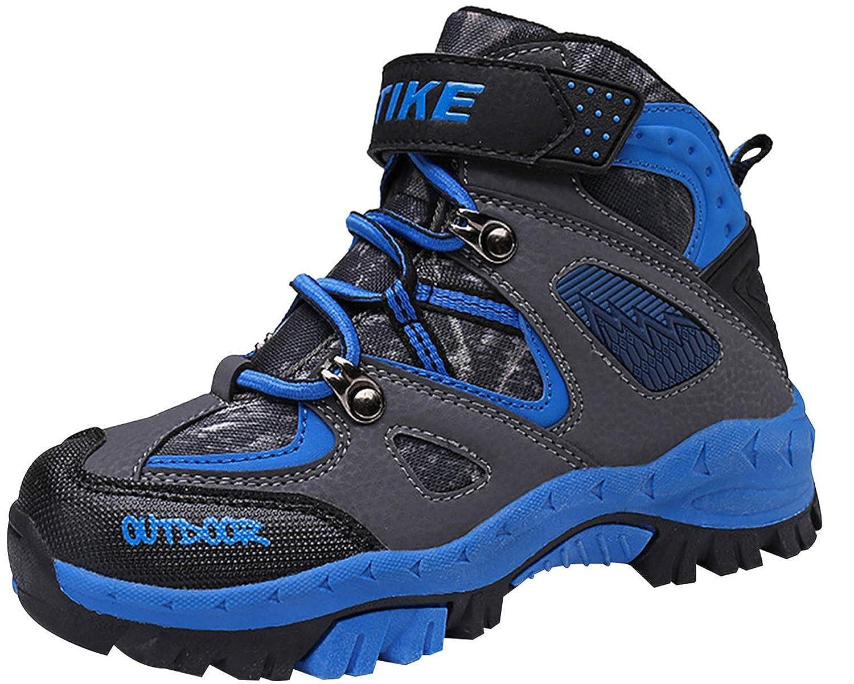 395ac3f3dec ASHION Hiking Boots Kids Trekking Climbing Outdoor Shoes Boys Trekking  Waterproof Snowshoeing Hiking Footwear