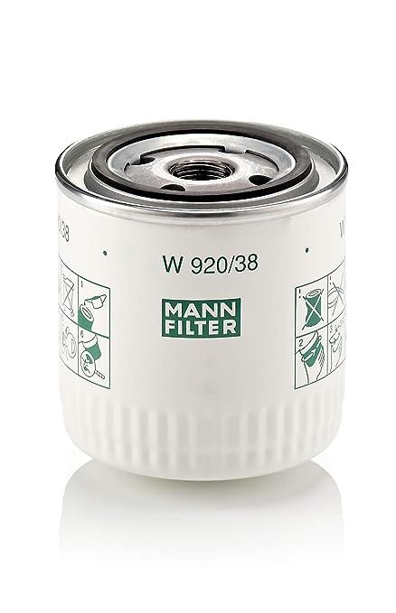 Mann Filter W 920/38 Filtro de Aceite
