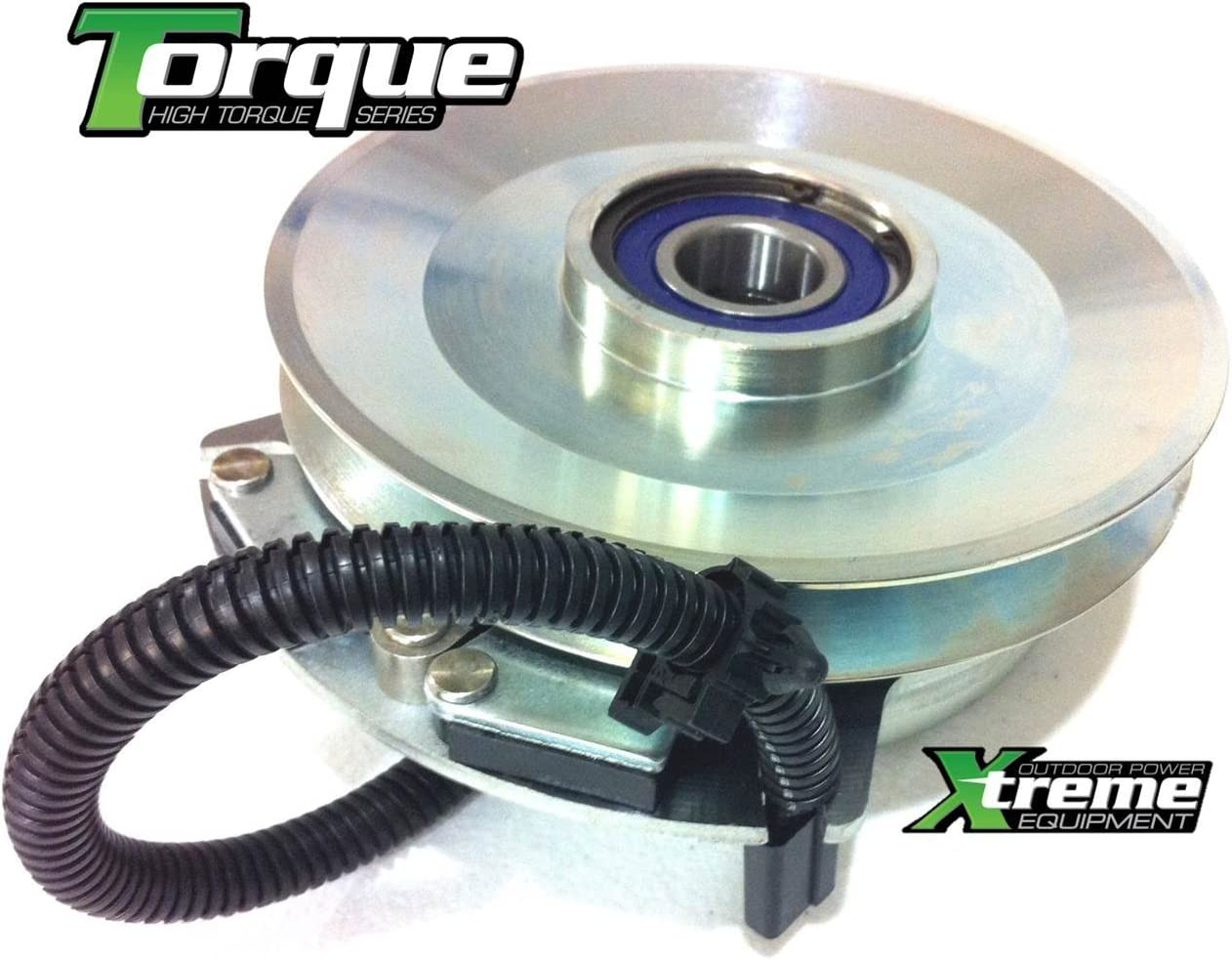Replaces Warner 5218-259 PTO Blade Clutch Free Upgraded Bearings Billet Pulley