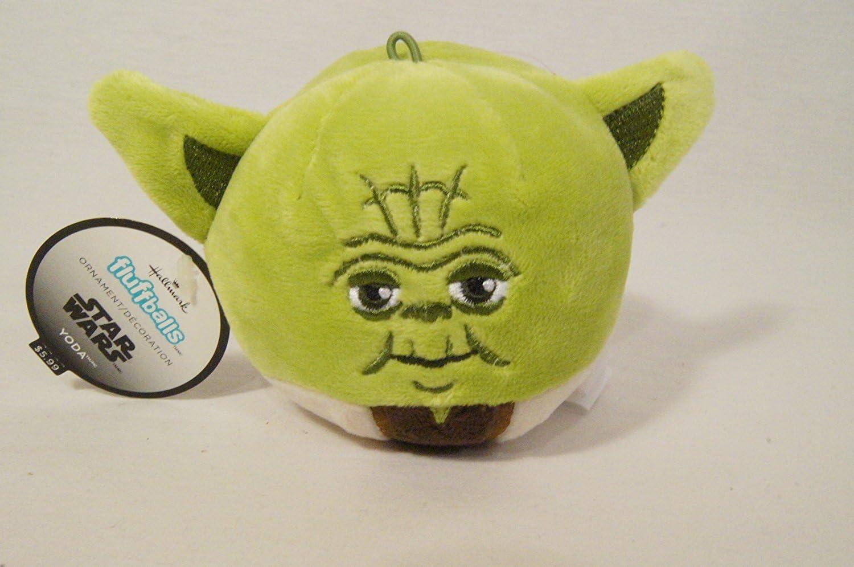 Hallmark Star Wars Fluffballs Yoda Natale ornamento