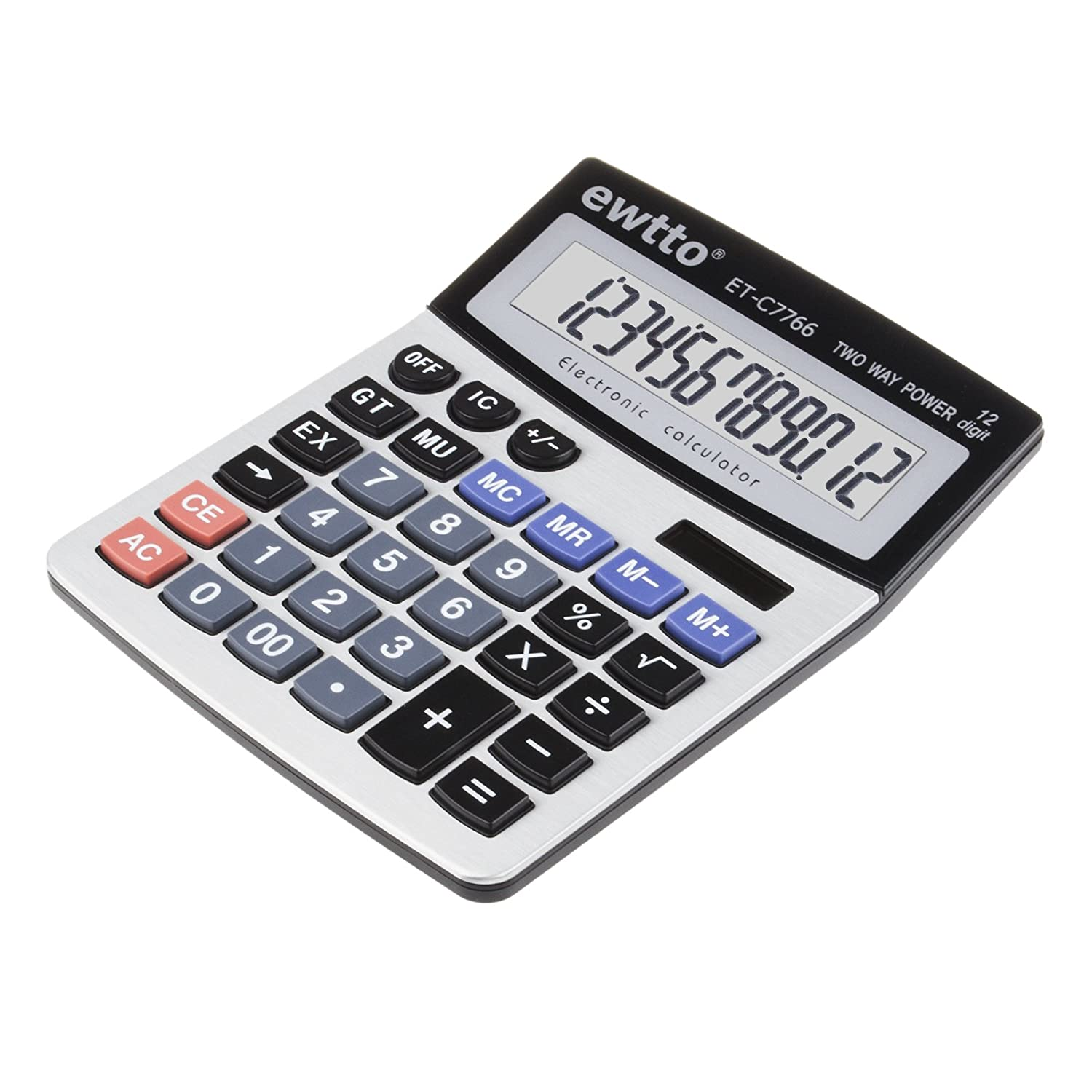Chic EWTTO Solar Desktop Calculator Standard Basic Function - Abb basic relay school