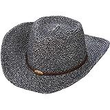 Gysad Estilo Vaquero Occidental Cowboy Hat Protector Solar Transpirable Sombrero  Vaquero Unisex Vintage… 8114ee8d360