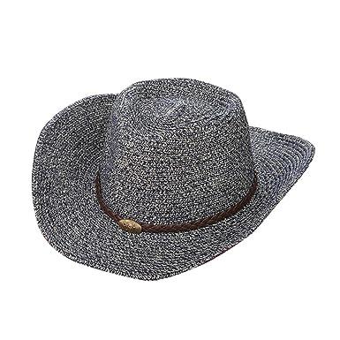519521d7ca Gysad Estilo Vaquero Occidental Cowboy Hat Protector Solar Transpirable Sombrero  Vaquero Unisex Vintage Gorras Size 56