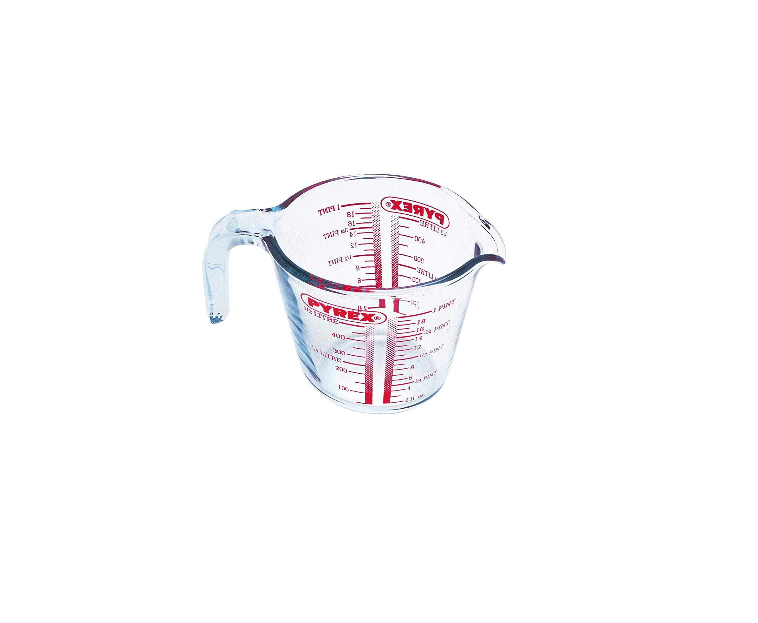 Pyrex Classic Vidrio - Jarra medidora, 0,5 l product image