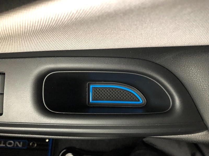 ノートe-Power専用-インテリアラバーマット-ゴムマット(赤色-保証付】ニスモモデルに最適-ドアポケットマット