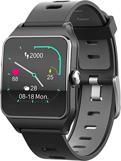 Funker T9 Track Master Negro Smartwatch para Hombre o Mujer ...
