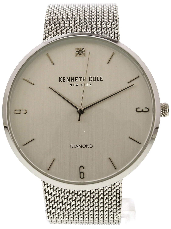 Kenneth Cole Men's Genuine Diamond Mesh Fashion Watch