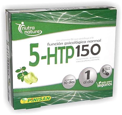 5-Htp 30 Cápsulas de 150 Mg. de Pinisan