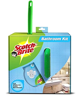 Scotch Brite Bathroom Cleaning Kit Amazon In Home Improvement