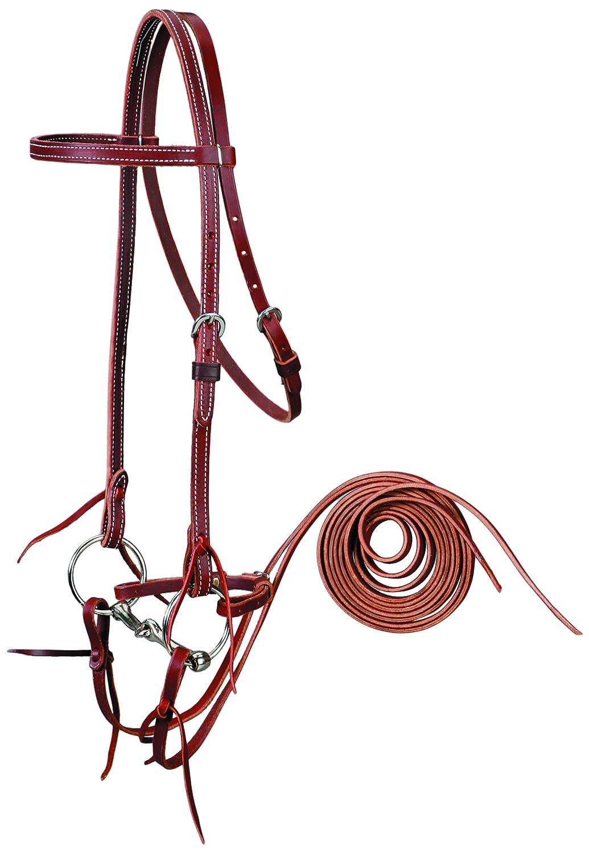 colorado Saddlery Bridle w Snaffle Bit 5-5039