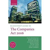 Blackstone's Guide to the Companies Act 2006