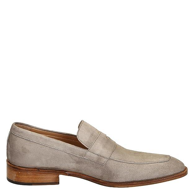 Men's 8CAMOSCIOTAUPE Beige Suede Loafers