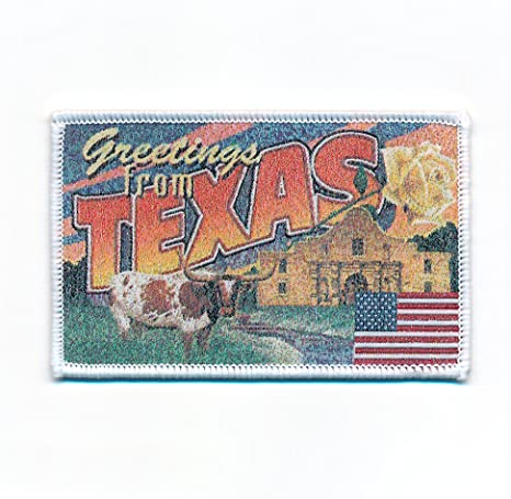 90 X 58 Mm Texas Dallas Retro Nostalgie Patch Usa Edel Aufnäher Aufbügler 0739 B Auto
