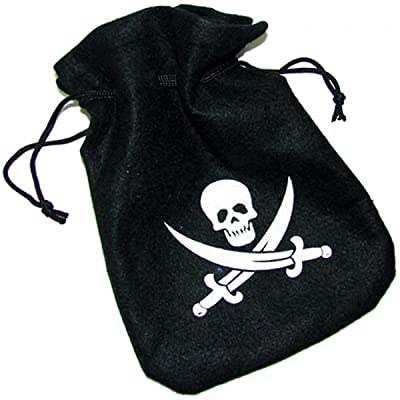 Pirate Treasure Bag Costume Accessory: Clothing
