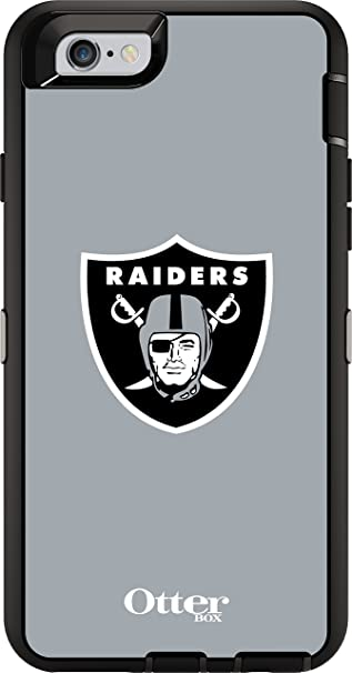 Otterbox Defender Iphone 6 6s Only Case Retail Packaging Nfl Raiders