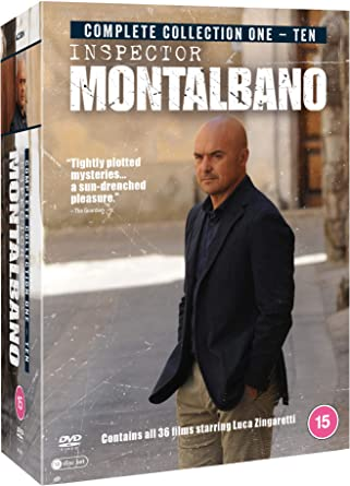 Inspector Montalbano: Collection 1-10 Boxed Set