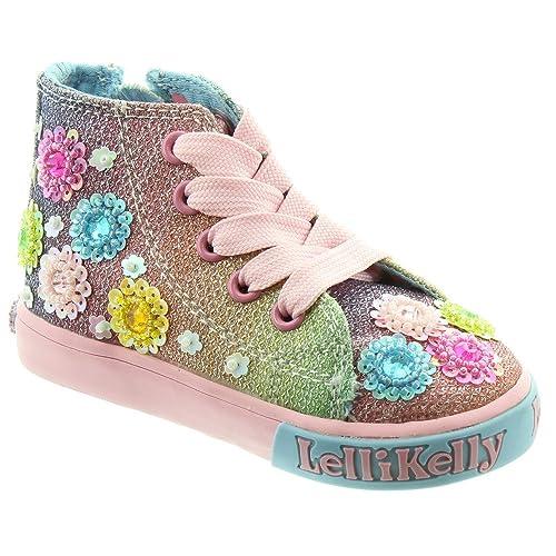 0141dfd36e Lelli Kelly Kids LK5046 Millisoli Boots In Multi, Multicoloured, 4 UK Child