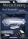 Metal Earth - 5061063 - Maquette 3D - Aviation - Graf Zeppelin - 12,1 x 3,5 x 3,7 cm - 2 pièces
