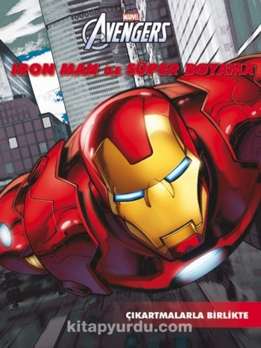 Marvel Iron Man Ile Super Boyama 9786053337782 Amazoncom Books
