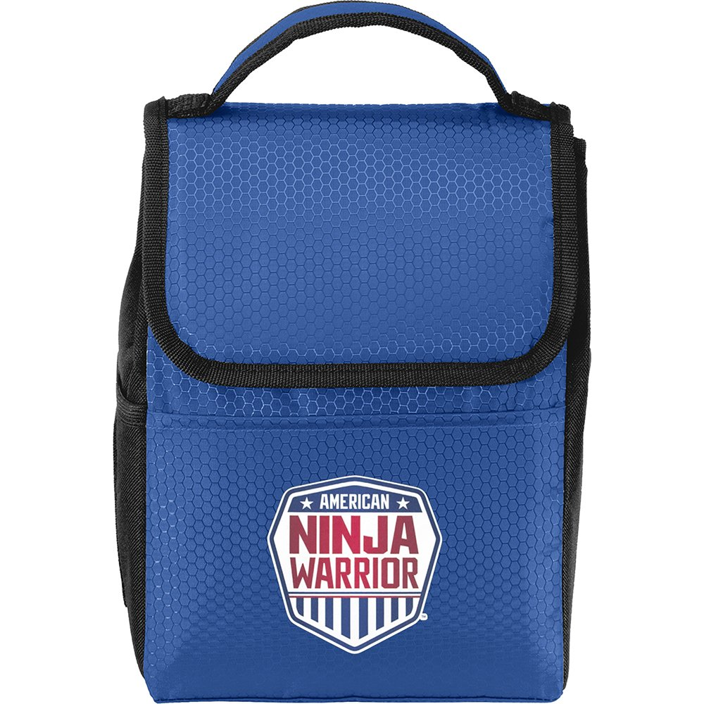 American Ninja Warrior Lunch Tote/Cooler - Blue - Perfect for ANW Fans on the Go