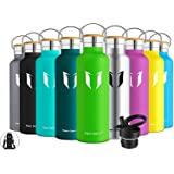 Super Sparrow Insulated Water Bottle with Straw Lid Kids - 12oz, 17oz, 25oz, 32oz - Reusable Standard Mouth Stainless Steel F