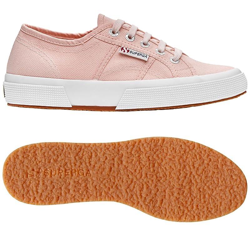 Superga 2750 Cotu Classic Sneakers Low-Top Unisex Damen Herren Rosa (Pink Skin)