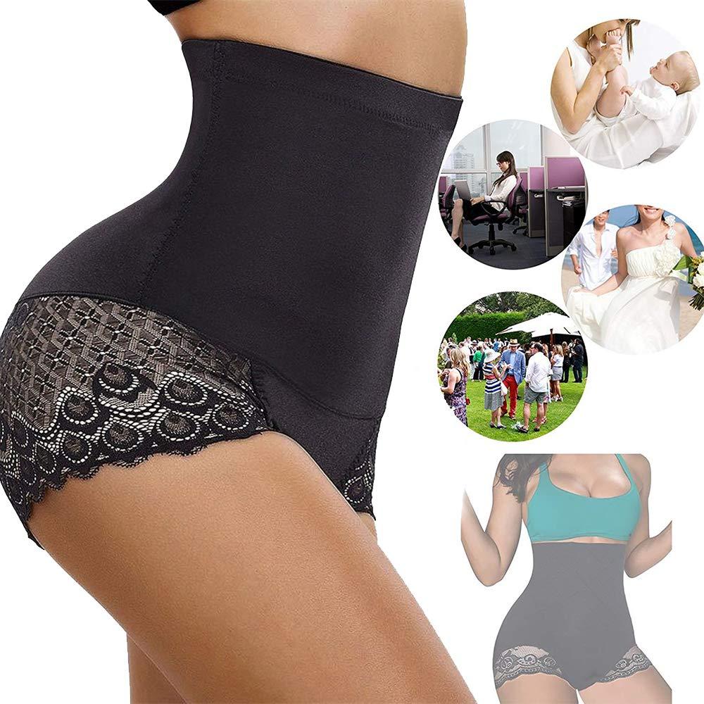 Jason&Helen Strapless Body Shaper High Waist Tummy Control Shapewear Women Butt Lifter Panty