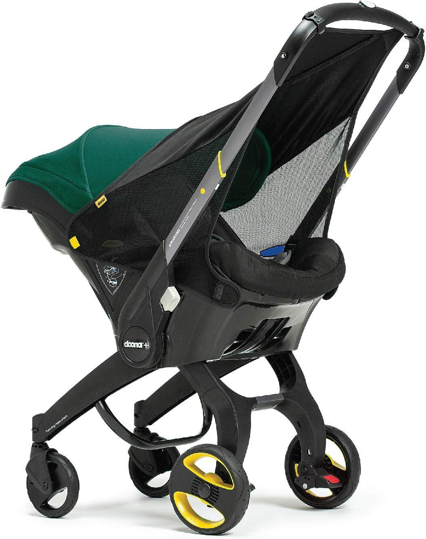 Simple Parenting - Sombrilla Toldo para Silla de Auto Doona negro