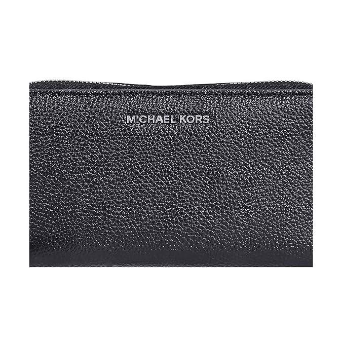 83acd5747680 Michael Kors Mercer Large Leather Smartphone Wristlet in Black: Handbags:  Amazon.com