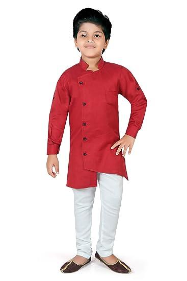 Ahhaaaa Ethnic Wear Indo Western Set for Kids and Boys