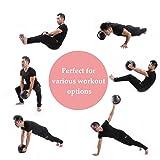 ZELUS Dual Grip Medicine Ball Weight Exercise