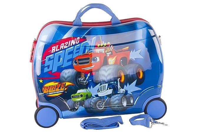 Pam Shop Maleta rígida puede montar BLAZE RACE azul equipaje de mano ryanair abs VS126