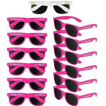 Gafas de Sol de Novia de 13 Piezas Gafas de Sol de Despedida ...