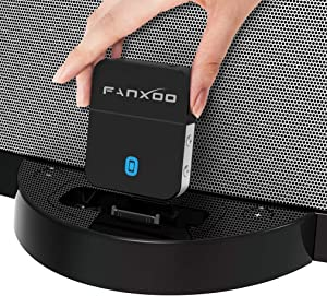 Fanxoo DockPro Bose Bluetooth Adapter for SoundDock 30 pin iPod Bluetooth 5.0 Adapter Compatible for iPhone iPod Docking Station
