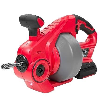 "Moon Daughter 18v cordless portable Electric Plumbing Dredger Cleaner Drain Snake Auger drill 2"" Dredging"