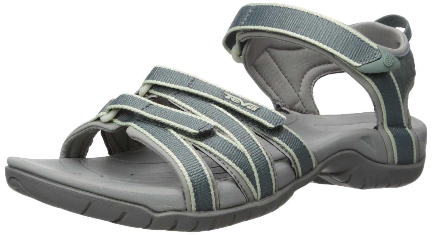 Teva Women's Tirra Athletic Sandal B018WWTUIK 8 B(M) US|Slate/Grey