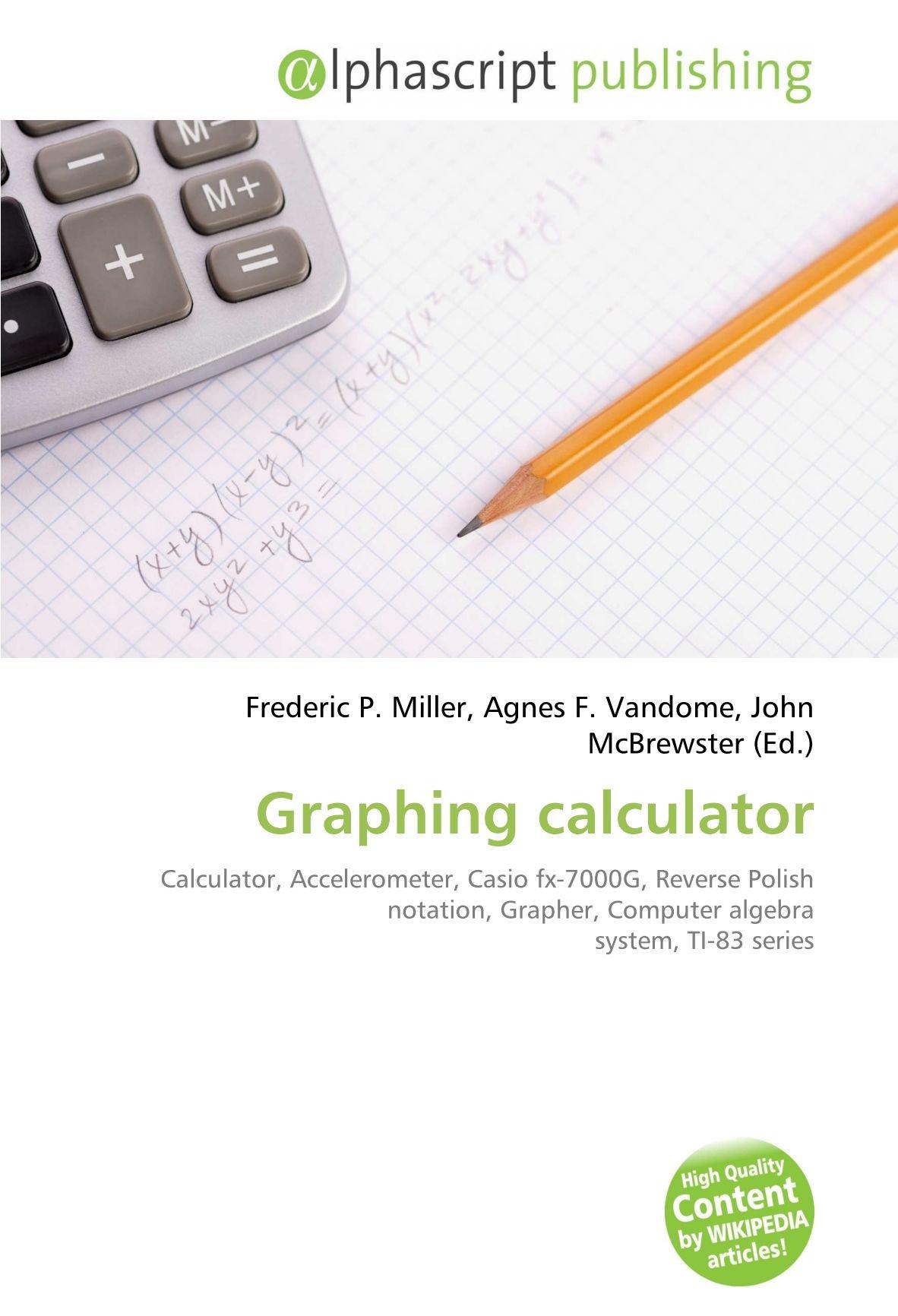 Graphing calculator: Calculator, Accelerometer, Casio fx-7000G ...