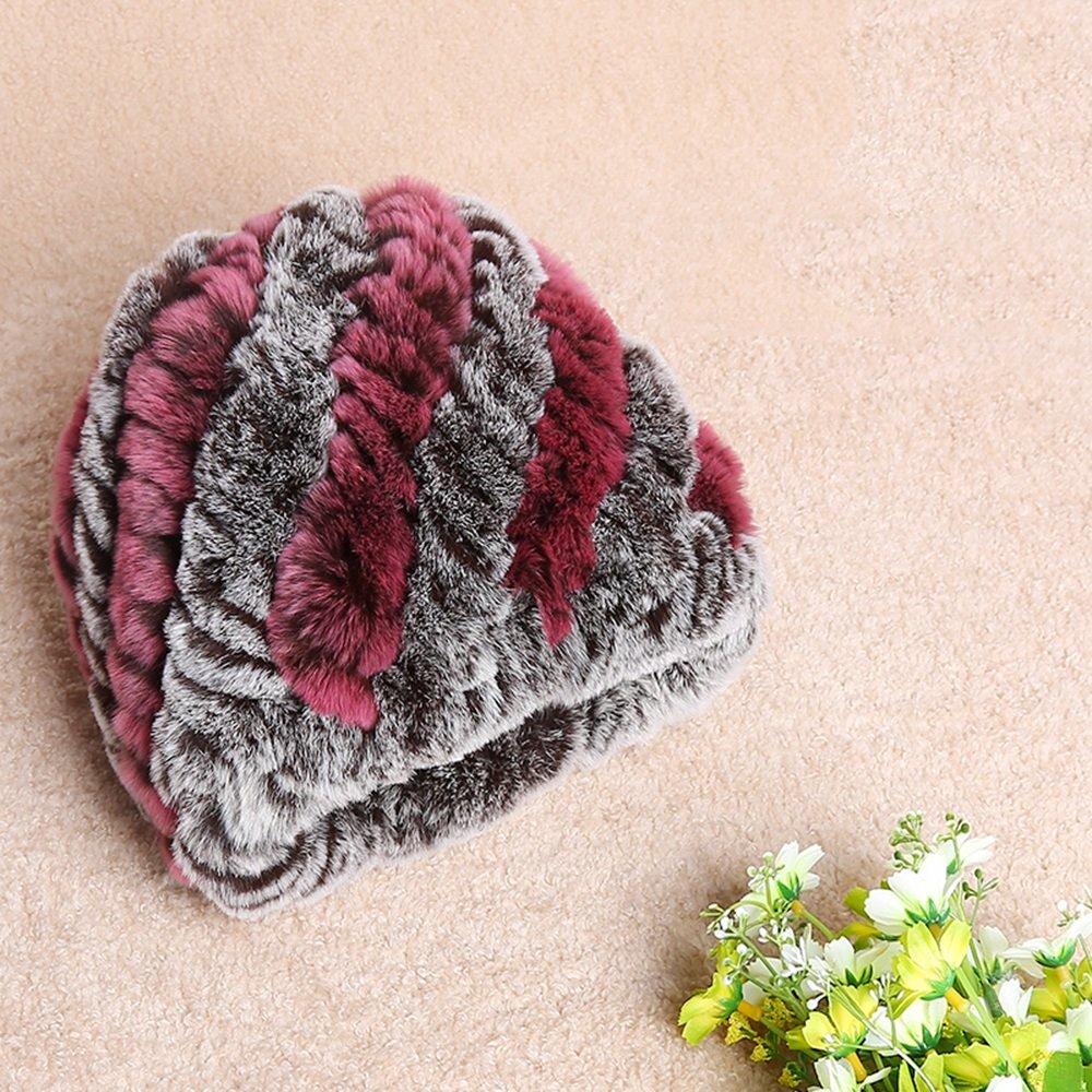 HAIZHEN alla moda alla moda Sciarpa del cappello della donna Sciarpa di spessore di inverno caldo Te...