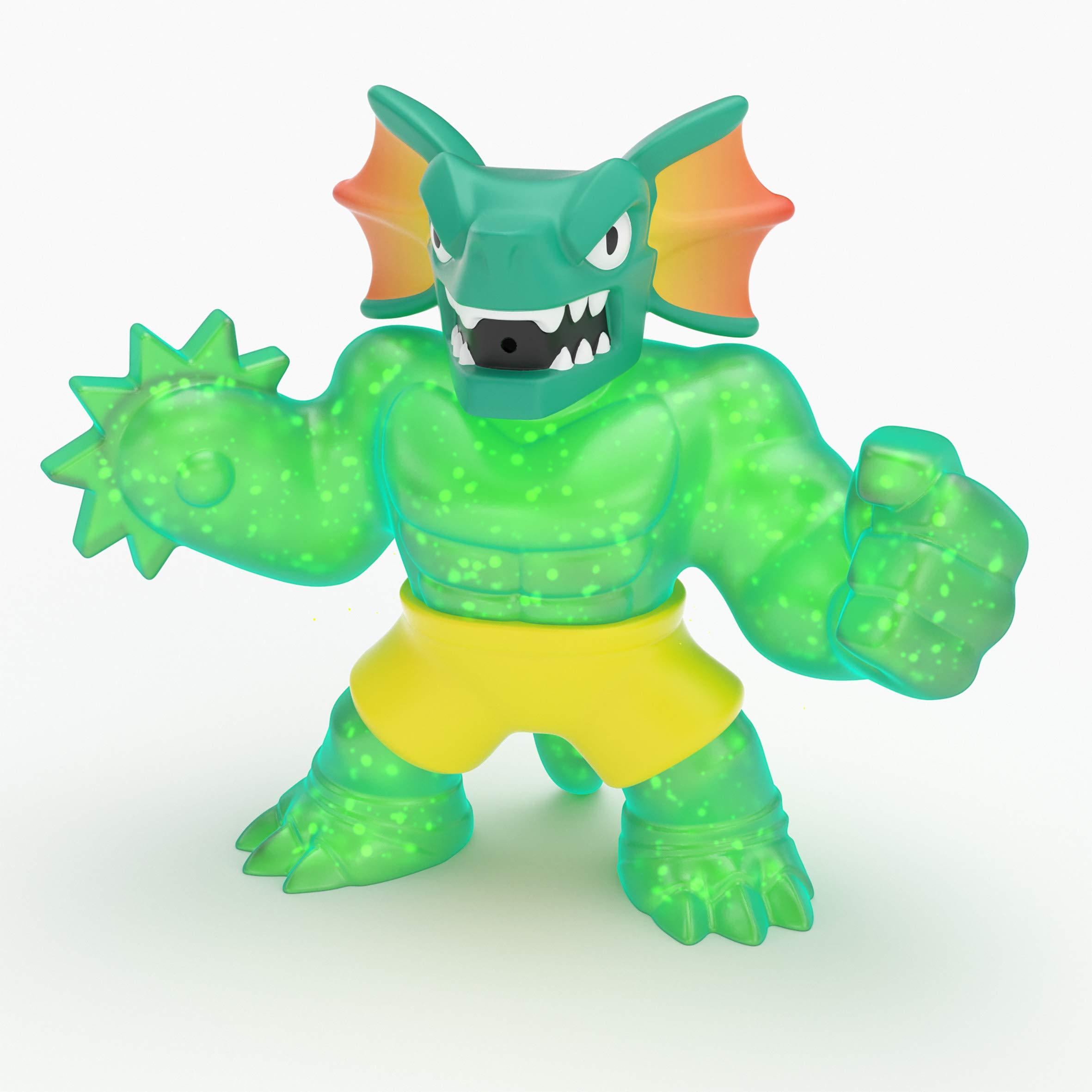 Heroes of Goo Jit Zu 41041 Hero Pack S2 REPTAUR The Lizard, Multicolor