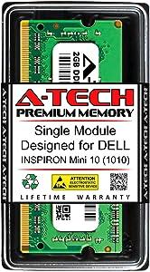 A-Tech 2GB RAM for DELL INSPIRON Mini 10 (1010) | DDR3 1333MHz SODIMM PC3-10600 204-Pin Non-ECC Memory Upgrade Module